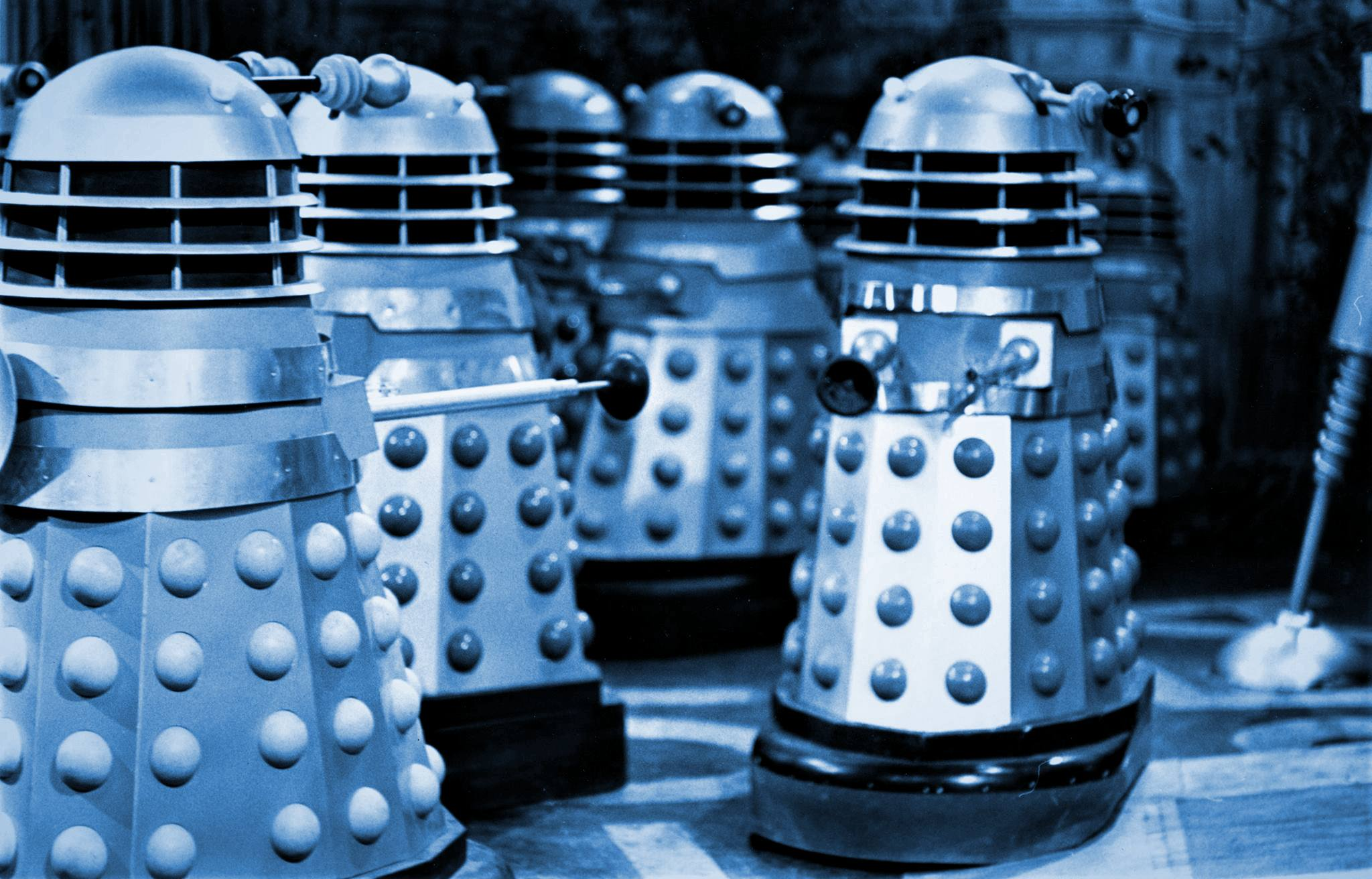 The all-Dalek production of *A Chorus Line* was a box office failure, but gained plaudits from critics for 'sheer audacity'.