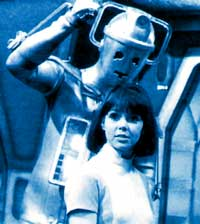 As the Cyberman prepares to give Zoe the fisting of her life...